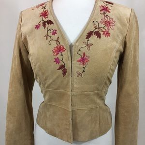 Bandolino blazer jacket with flower design